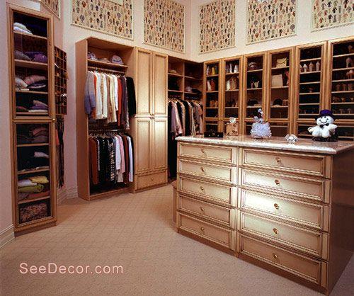 غرف تخزين / ملابس & حاجيات (صور)   عالم حواء