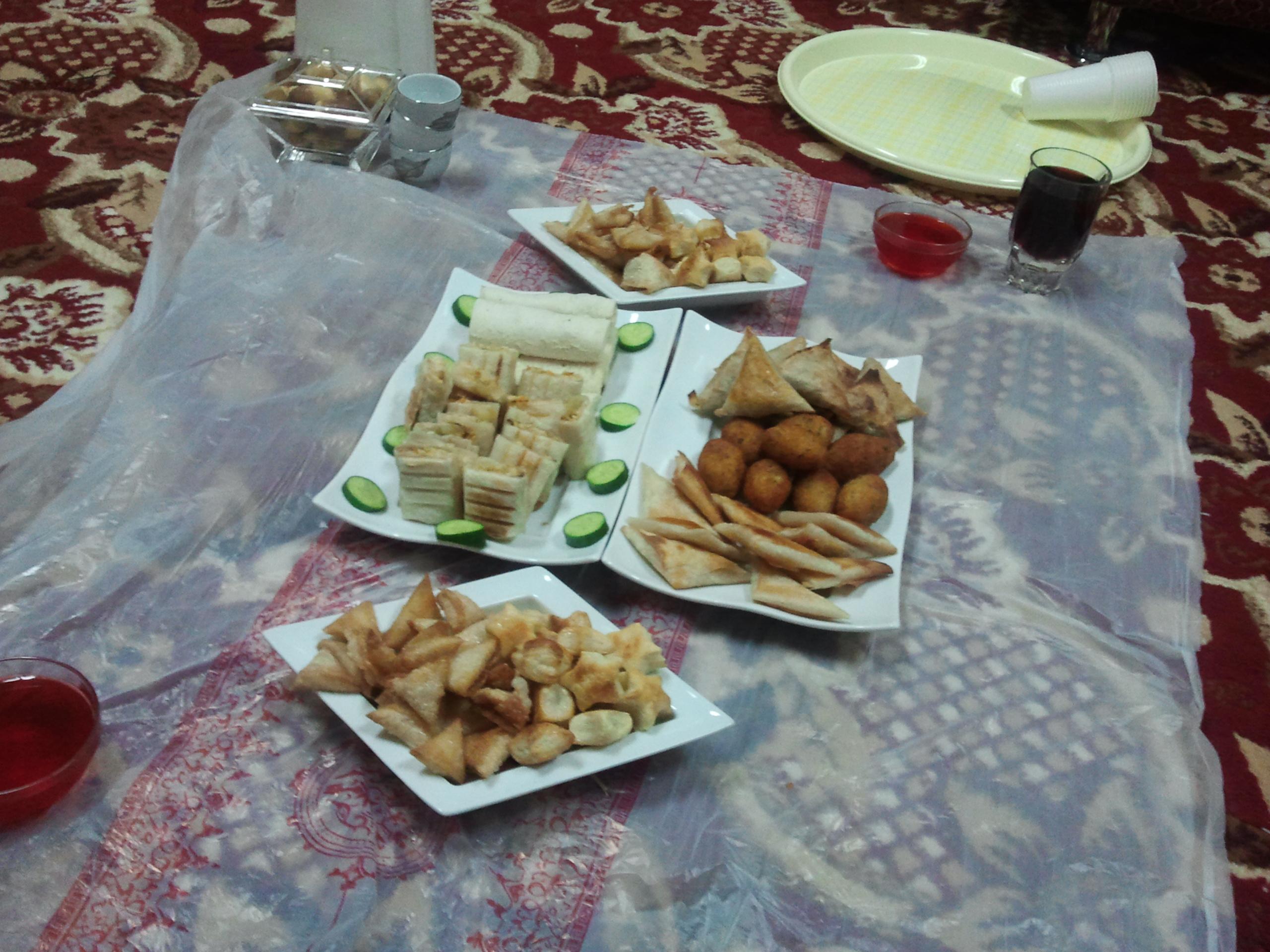 فطوري اول يوم رمضان عالم حواء